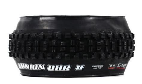 vtt tubeless ou chambre à air pneu maxxis minion dhr ii exo protection dual 62a 60a