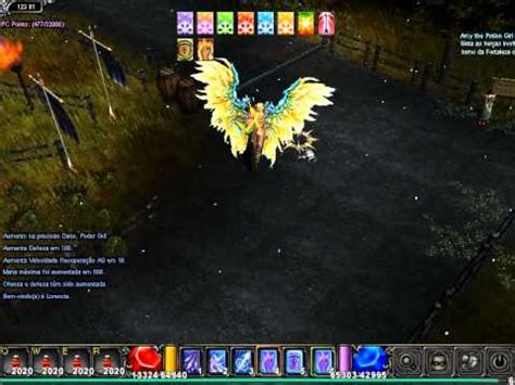 wing  muse elf skins muonline youtube