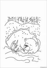 Coloring Cave Clipart Bear Hibernation Hibernating Pooh Winnie Printable Webstockreview Cartoon Preschool Sheets Amazing Peep Wallpaperfor Bo sketch template