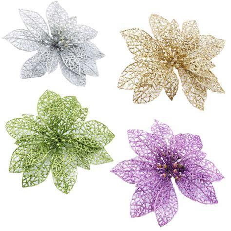 Buy 1pcs 6 Inch Christmas Flowers Xmas