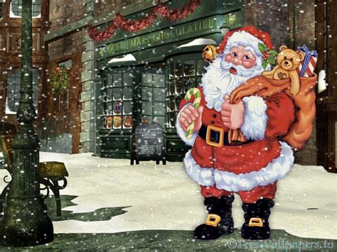 Animated Santa Wallpaper - santa claus wallpapers free wallpaper cave