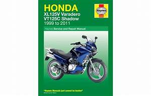 Honda Xl125v And Vt125c Shadow 1999  U2013 2011 Haynes Owners Service And Repair Manual