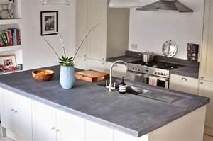 Arbeitsplatte mit betonoptik kuchenarbeitsplatten aus beton for Küchenplatte betonoptik