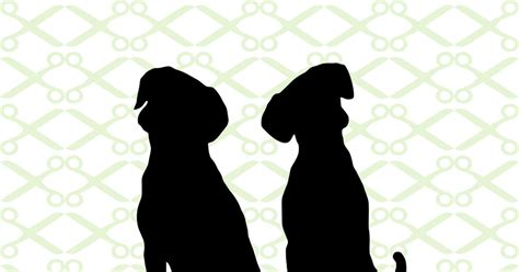 silhouette   dogs cricut silhouette files svg dxf eps png monogramsvgcom  svg designs