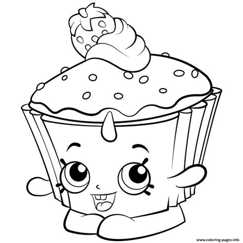 print exclusive shopkins colouring  coloring pages