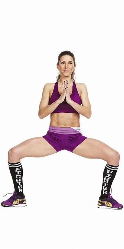 Nicole Scherzinger Workout Exercise Squat Trainer Personal