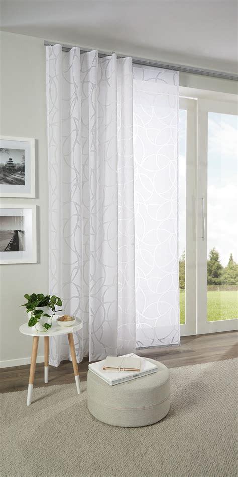 Vorhänge Mit Muster by H 252 Bscher Vorhang Mit Zartem Muster In Wei 223 Esposa