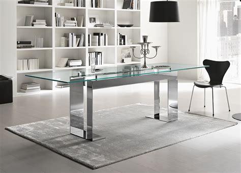 Tonelli Miles Glass & Chrome Dining Table  Contemporary. Cool Desks For Kids. Hp Printer Help Desk. Painted School Desk. Metal Table Base. Executive Desk Pads. Wooden L Desk. Cheap L Desk. Patio Coffee Table