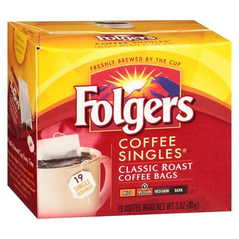 Choose from contactless same day delivery, drive up and more. Folgers Coffee Singles Classic Roast | Folgers coffee, Coffee branding, Expensive coffee