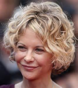 Short Curly Hairstyles Women Over 50
