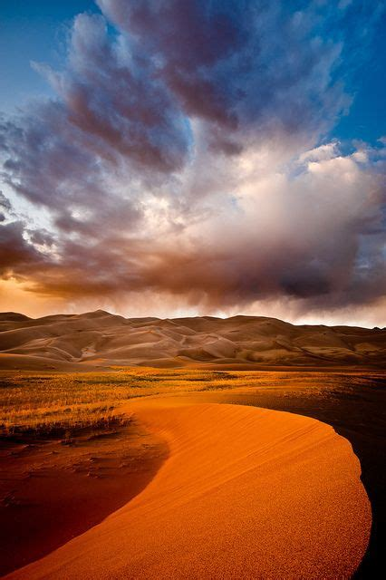 """I Love Beautiful Beaches """"storm Over The Great Sand Dunes"""