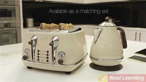 Delonghi Icona Vintage Kettle And Toaster. Delonghi Icona