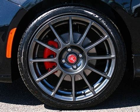 Fiat Abarth Wheels by Fiat 500 Wheel Part No 1vl35jxyab