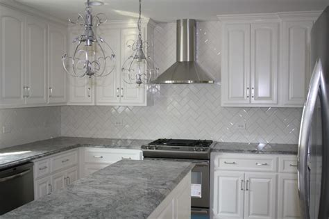 kitchen gray cabinets granite countertops pictures