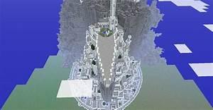 Map Minas Tirith Minecraftfr