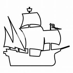 Simple Ship Drawing