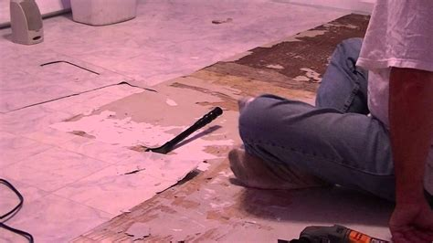 removing vinyl flooring  wood youtube