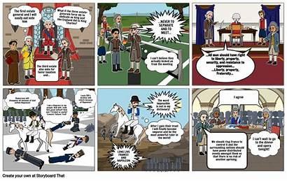 Graphic French Novel Revolution