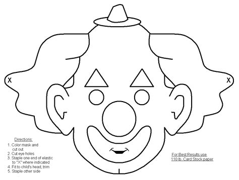 Coloring Halloween Masks ? Festival Collections