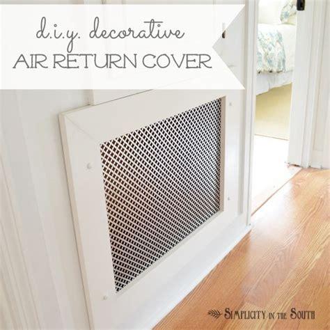 decorative air vents how to make a decorative air return vent cover metals