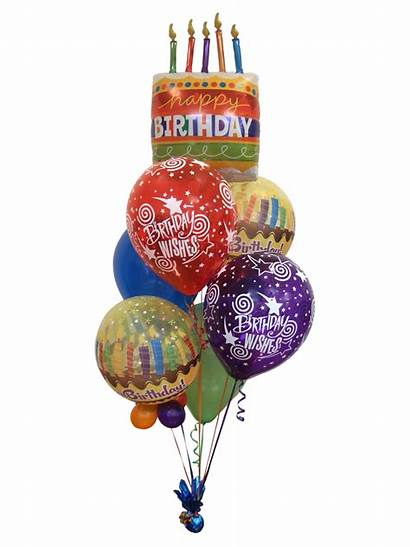 Birthday Wishes Bouquet Balloon Gift Bouquets Balloons