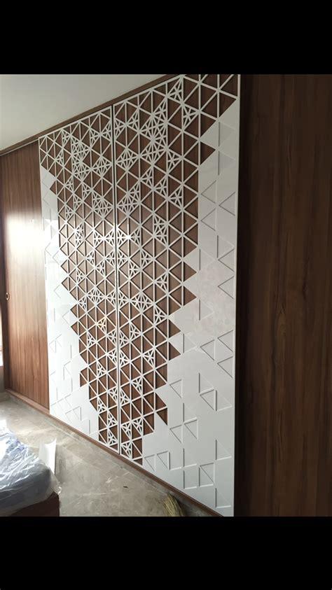 acrylic work jaali design wall design wall cladding