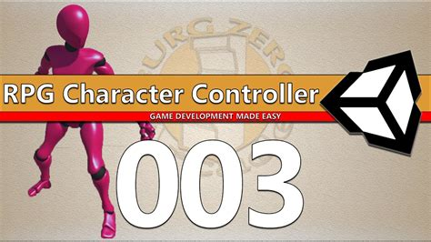 rpg character controller  unity  root motion youtube