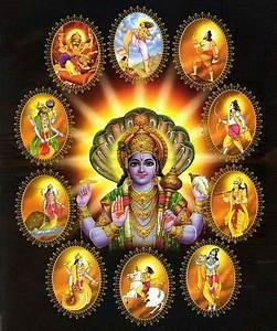 Dasavatara - The 10 Avatars of Vishnu (via sravanam.org ...