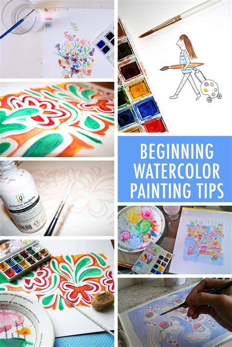 10 beginning watercolor painting tips