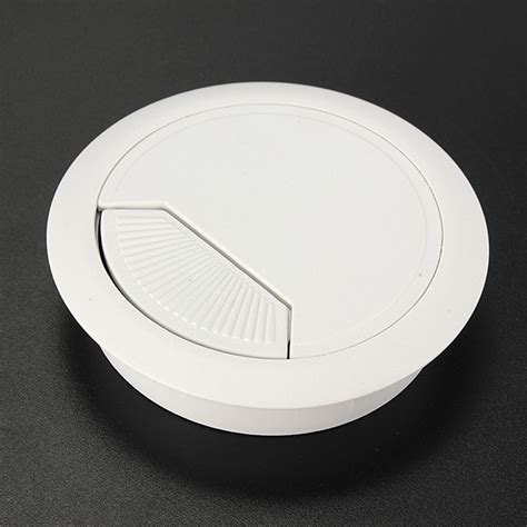 60mm cache table bureau c 226 ble trou surface cover fil pour