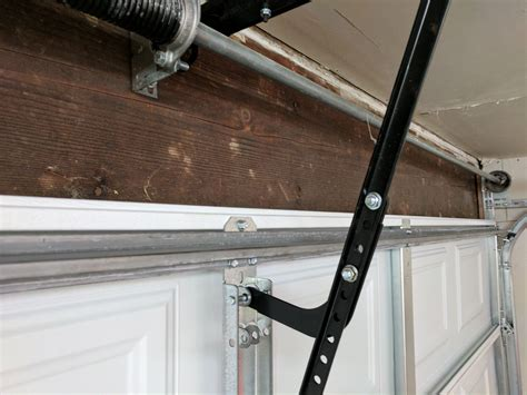 installing  center mount opener   garage door perfect solutions garage door