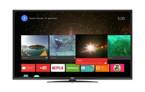 android to tv rca announces an android tv with 4k resolution that doesn