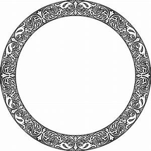 Fancy Round Picture Frame | www.pixshark.com - Images ...
