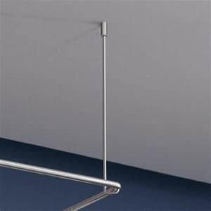 Duschstange L Form : phos duschvorhangstange edelstahl d se 900 900 mm l form mit deckenabh ngung ~ Orissabook.com Haus und Dekorationen