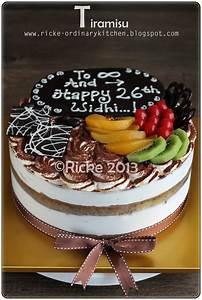 Birthday Cakes Images: Delicious Tiramisu Birthday Cake ...