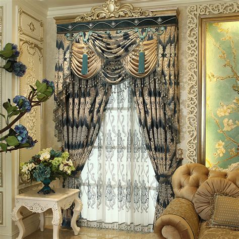 luxurious chic curtains are fabulous for living room