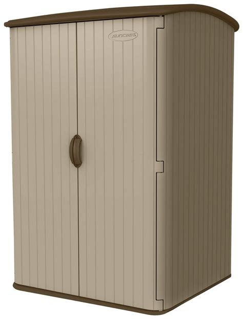 costco outdoor storage cabinet exterior suncast cubic foot vertical rubbermaid sheds