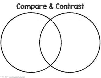 Spring Compare & Contrast {freebie!} By Jenn Alcorn Tpt