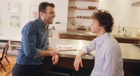 zachary quinto home zachary quinto miles mcmillan give a tour of their nyc