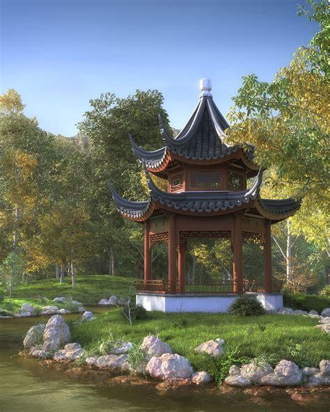 Chinese Garden  China  Garten, Garten Ideen Und Asien