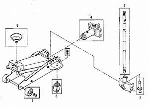 Craftsman Model 21412000 Jack Hydraulic Genuine Parts