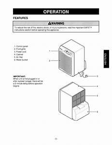 Kenmore 58052450200 User Manual Dehumidifier Manuals And