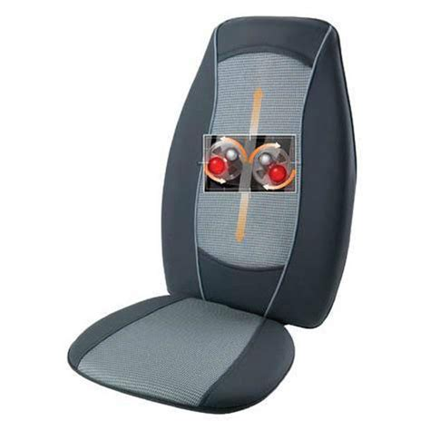 homedics chair massager pad buy homedics heated back massager cushion at computers