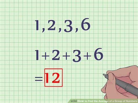 How To Find The Average Of A Group Of Numbers 6 Steps