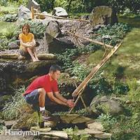 how to build a water feature How to Build a Bamboo Water Feature | The Family Handyman