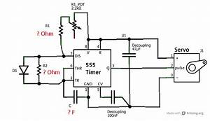 servo tester by 555 timer current projects electronics With 555 tester circuit
