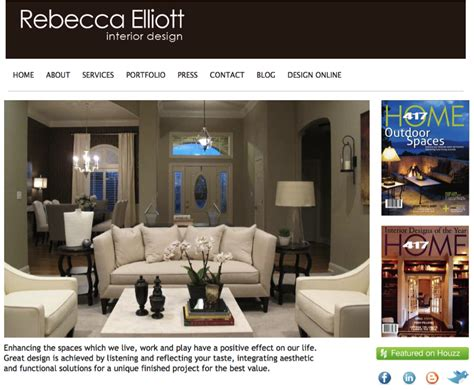 website interior design yola