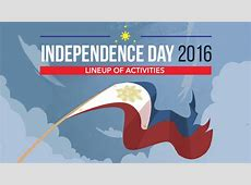 INFOGRAPHIC PH Independence Day 2016 activities, services