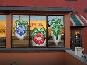 Window, Painting, For, Holidays, And, Special, Events, Holidays, At, Applebee, U0026, 39, S, 2012