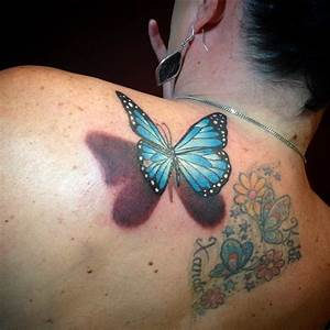 28 Awesome Butterfly Tattoos with Flowers That Nobody Will ...